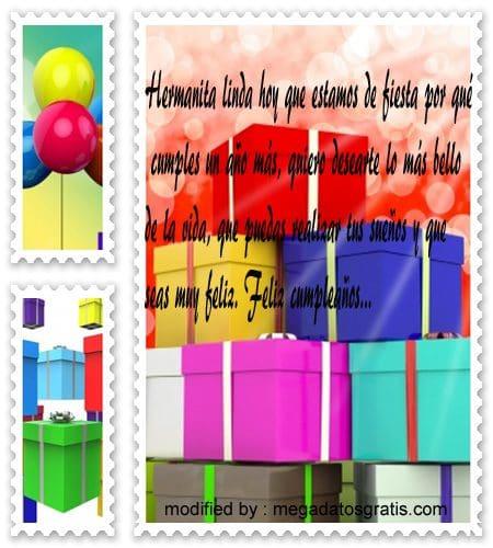 Feliz Cumpleanos14,enviar los mejores saludos de cumpleaños a tu hermana