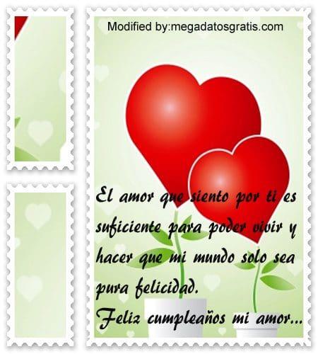 Palabras de cumpleaños amor,frases muy bonitas de cumpleaños para mi pareja