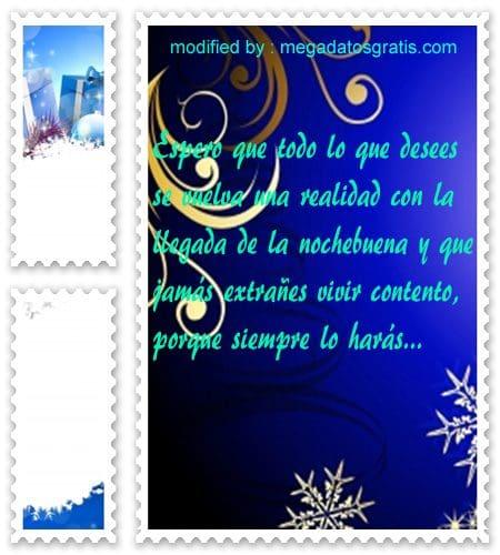 postales de mensajes de Navidad,textos bonitos de Noche Buena