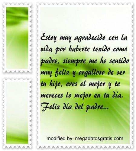 mTarjetas con mensajes bonitos para el dia del Padre,postales con textos por el dia del Padre