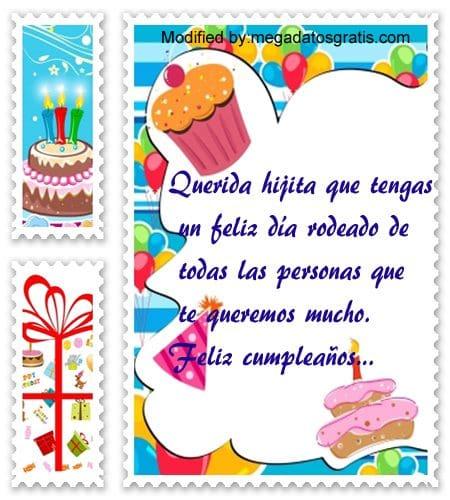 Palabras de cumpleaños para mi hija,dedicatorias de feliz cumpleaños hija