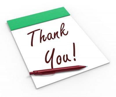 Modelos de carta de agradecimiento a proveedor | Formato de carta