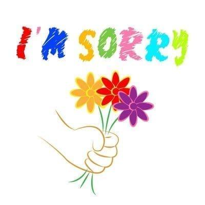 Originales frases para ofrecer disculpas con imágenes