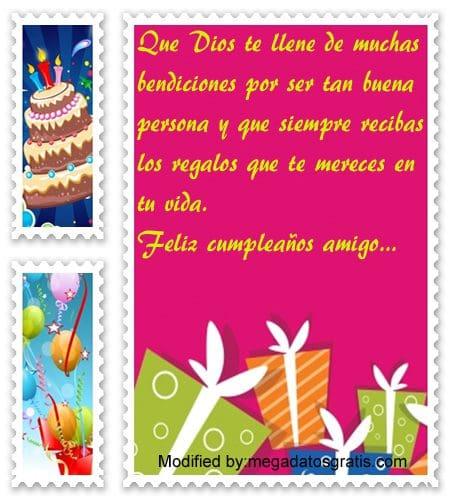 saludos de cumpleaños a un amigo,Bellos mensajes de cumpleaños para tu amigo
