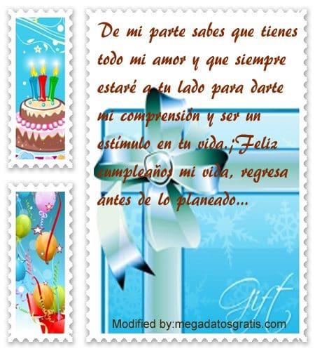 Poemas de cumpleaños para mi pareja,Bellos mensajes de cumpleaños para tu pareja