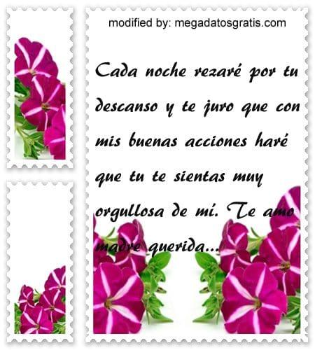 Textos de pesame a una madre,mensajes de textos de condolencias