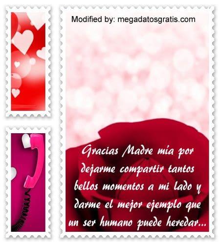palabras bellas para una madre,nuevas frases para tu querida madre