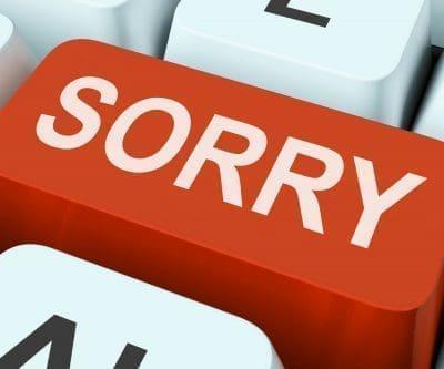 Frases de disculpas por escena de celos
