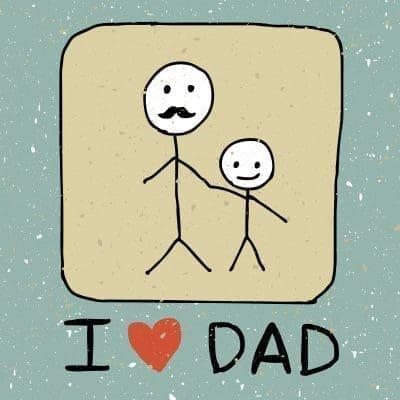 Frases de amor para un padre que vive lejos con imágenes