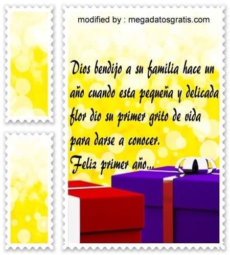 mensajes de cumpleaños,palabras bellas para desear feliz cumpleaños a un niños