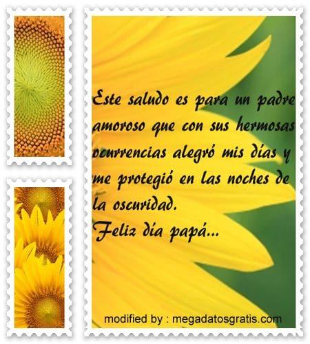 mensajes dia del Padre,bonitos saludos para el dia del Padre