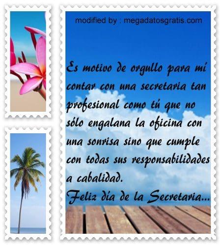 Mensajes con imàgenes por el dia de la secretaria,tarjetas con saludos para enviar a mi secretaria en su dia
