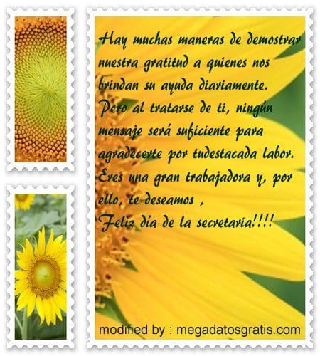 mensajes bonitos para desear felìz dìa a la secretaria,nuevos y originales felicitaciones por el dìa de la secretaria