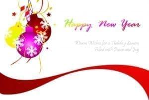enviar nuevas palabras de Año Nuevo, compartir frases de Año Nuevo