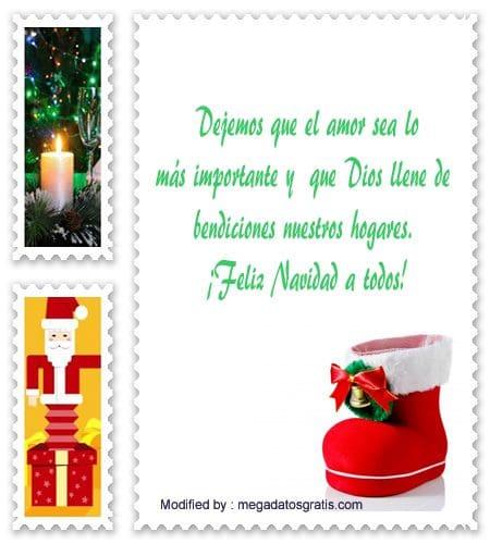 descargar mensajes bonitos de Navidad para facebook,frases de Navidad para facebook