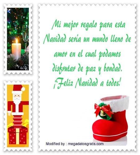 originales dedicatorias bonitas de Navidad para WhatsApp, lindas palabras de Navidad para WhatsApp