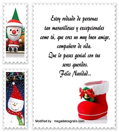 lindas frases de Navidad para tus amigos, enviar nuevos textos de Navidad para mis amigos