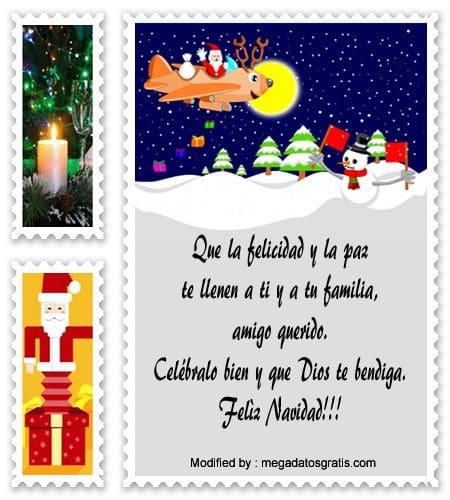 frases con imàgenes para enviar en Navidad, palabras para enviar en Navidad