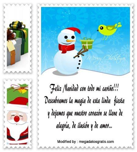 buscar mensajes de Navidad para tu familia y amigos, descargar gratis frases de Navidad para mi familia o amigos