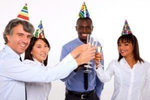 enviar nuevos mensajes de Año Nuevo para tus empleados, compartir frases de Año Nuevo para tus empleados