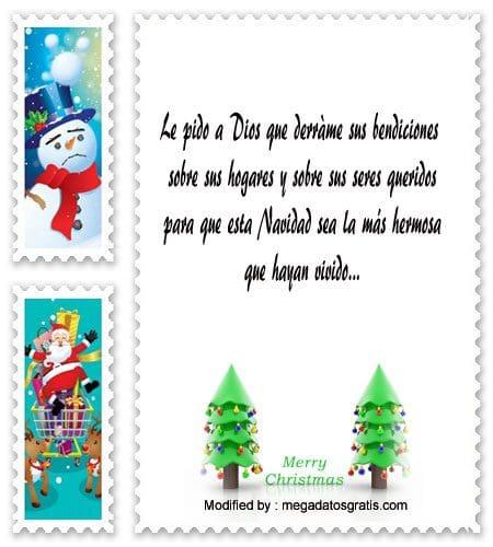 bonitas tarjetas para enviar en Navidad,versos para enviar en Navidad