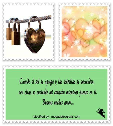 Bonitos Textos De Buenas Noches Para Mi Novio Frases De Buenas
