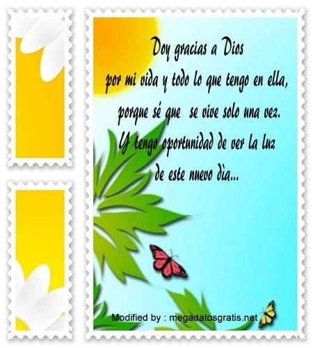 buscar frases de agradecimiento por un nuevo dìa, descargar mensajes bonitos de agradecimiento por un nuevo dìa