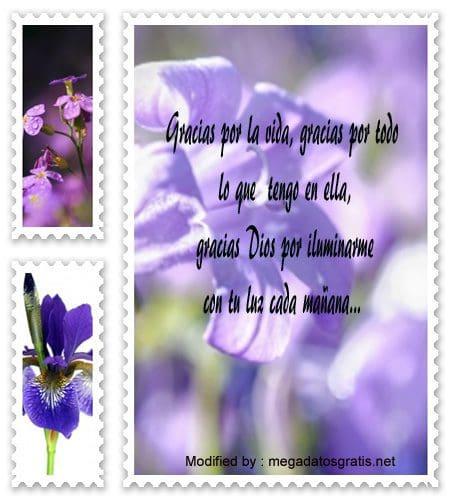 frases de agradecimiento por un nuevo dìa para compartir,mensajes bonitos de agradecimiento por un nuevo dìa