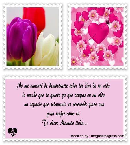 Linda Cartas Para Una Madre Que Esta Lejos Frases De Amor