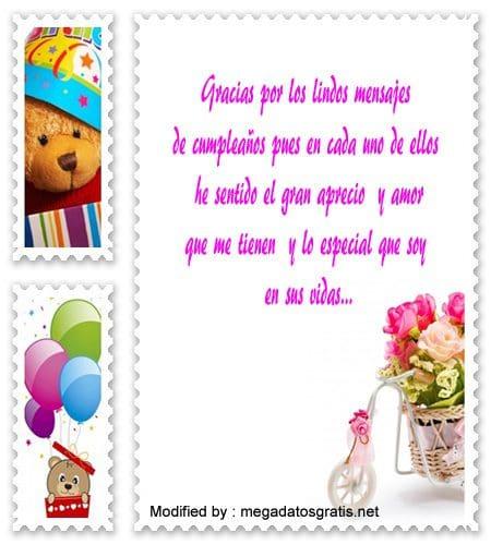 descargar mensajes de agradecimiento de cumpleaños para facebook, mensajes bonitos de agradecimiento de cumpleaños para facebook