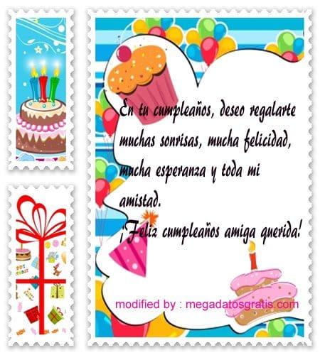 Tarjetas para saludos de cumpleaños para mi mejor amiga