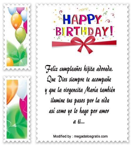 Bonitas Postales Con Saludos De Cumpleaños Para Mi Hija Frases De