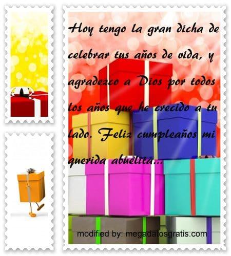 Hermosas Frases De Feliz Cumpleaños Para Abuelita Con Imágenes