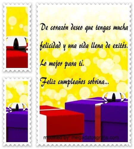 Mensajes de cumpleaños sobrina,bellas tarjetas con imàgenes muy lindas de felìz cumpleaños para una sobrina