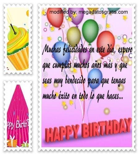 Textos de cumpleaños para Whatsapp,cortos saludos de cumpleaños por whatsapp