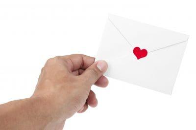 Cartas de amor cortas por aniversario