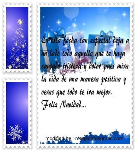 postales de mensajes de Navidad,tiernos saludos Navideños para compartir en tuenti