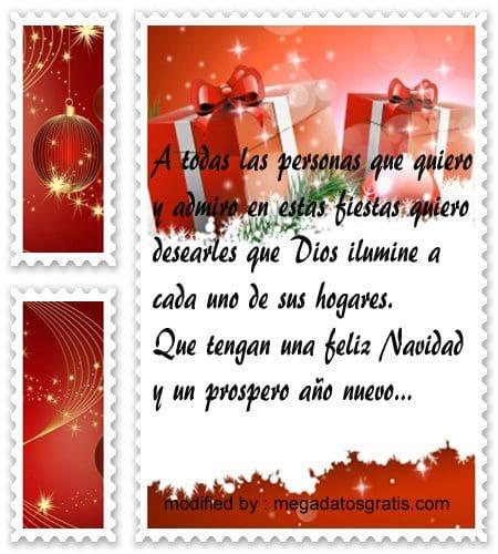 postales de mensajes de Navidad,nuevoy y cortos saludos Navideños para compartir en tuenti