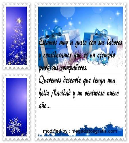 Frases de saludos de navidad para trabajadores con - Mensajes navidenos para empresas ...