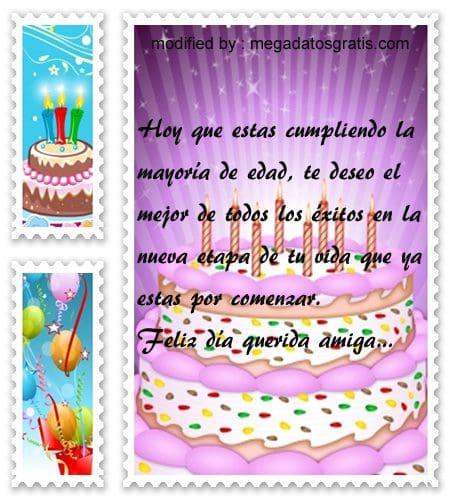 Bellas frases para saludar a mi amiga por su cumpleaños,Lindas frases de cumpleaños para tu amiga