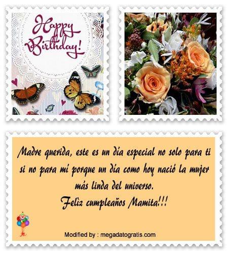 Bonita Carta A Tu Mama Por Su Cumpleanos Frases De Feliz