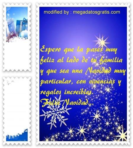 postales de mensajes de Navidad,textos Navideños para enviar por Skype