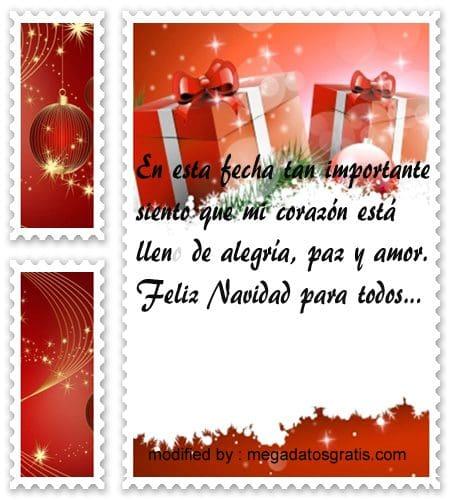 postales de mensajes de Navidad,lindos saludos Navideños por facebook