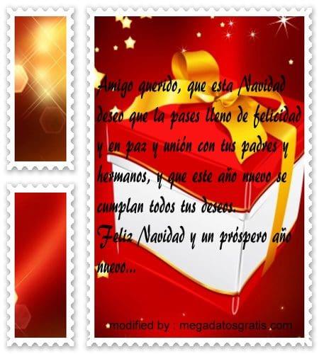postales de mensajes de Navidad,bonitos textos de Navidad para un amigo