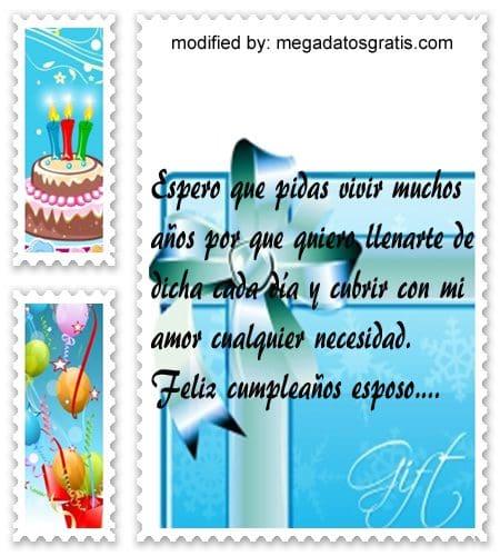 Mensajes de cumpleaños esposo,Bellos mensajes de cumpleaños para tu pareja