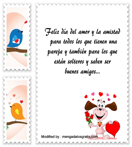 Mensajes Originales Por El Dia De La Amistad Frases De Amor