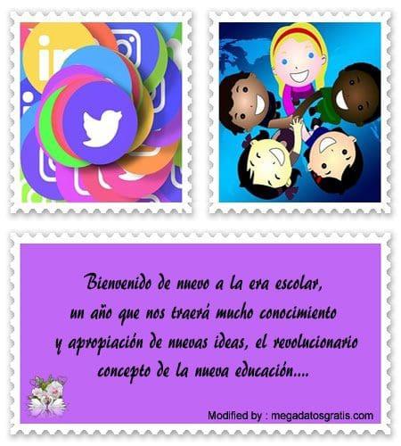 Buenos Deseos Para Inicio De Año Escolar Frases De Inicio