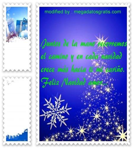postales de mensajes de Navidad,nuevos y cortos sms de Navidad para mi novio