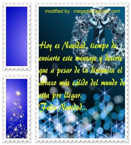 postales de mensajes de Navidad,nuevos sms de saludos Navideños