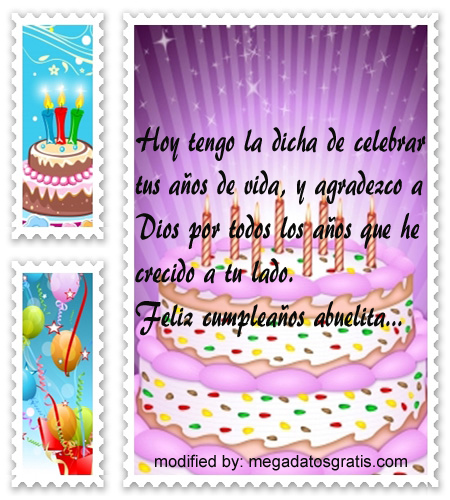 Bonitas Palabras Para Mi Abuelita Por Su Cumpleaños Con Imágenes